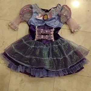 Disney Tangled Rapunzel Dress, size 3T-4T